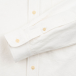 Мужская рубашка The Hill-Side Selvedge Oxford Cloth Button-Down White фото- 3