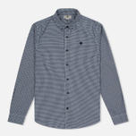Мужская рубашка Timberland Rattle River Slim Fit Gingham Dark Sapphire фото- 0