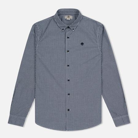 Мужская рубашка Timberland Rattle River Slim Fit Gingham Dark Sapphire