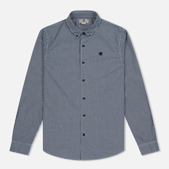 Мужская рубашка Timberland Rattle River Slim Fit Gingham Dark Sapphire