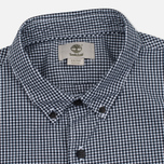 Мужская рубашка Timberland Rattle River Slim Fit Gingham Dark Sapphire фото- 1