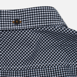 Мужская рубашка Timberland Rattle River Slim Fit Gingham Dark Sapphire фото- 4