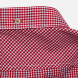 Мужская рубашка Timberland Rattle River Slim Fit Gingham Haute Red фото- 3