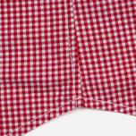 Мужская рубашка Timberland Rattle River Slim Fit Gingham Haute Red фото- 4