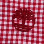 Мужская рубашка Timberland Rattle River Slim Fit Gingham Haute Red фото- 5