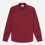 Мужская рубашка Timberland Rattle River Slim Fit Gingham Mars Red фото- 0
