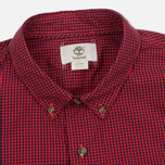 Мужская рубашка Timberland Rattle River Slim Fit Gingham Mars Red фото- 1
