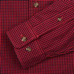 Мужская рубашка Timberland Rattle River Slim Fit Gingham Mars Red фото- 2