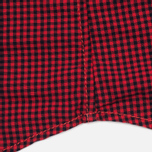 Мужская рубашка Timberland Rattle River Slim Fit Gingham Mars Red фото- 3