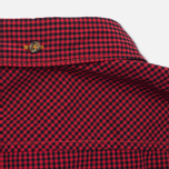 Мужская рубашка Timberland Rattle River Slim Fit Gingham Mars Red фото- 4