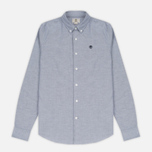 Мужская рубашка Timberland Rattle River Slim Fit Oxford Dark Sapphire фото- 0
