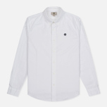 Мужская рубашка Timberland Rattle River Slim Fit Oxford White фото- 0