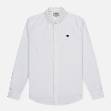 Мужская рубашка Timberland Rattle River Slim Fit Oxford White