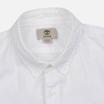 Мужская рубашка Timberland Rattle River Slim Fit Oxford White фото- 1