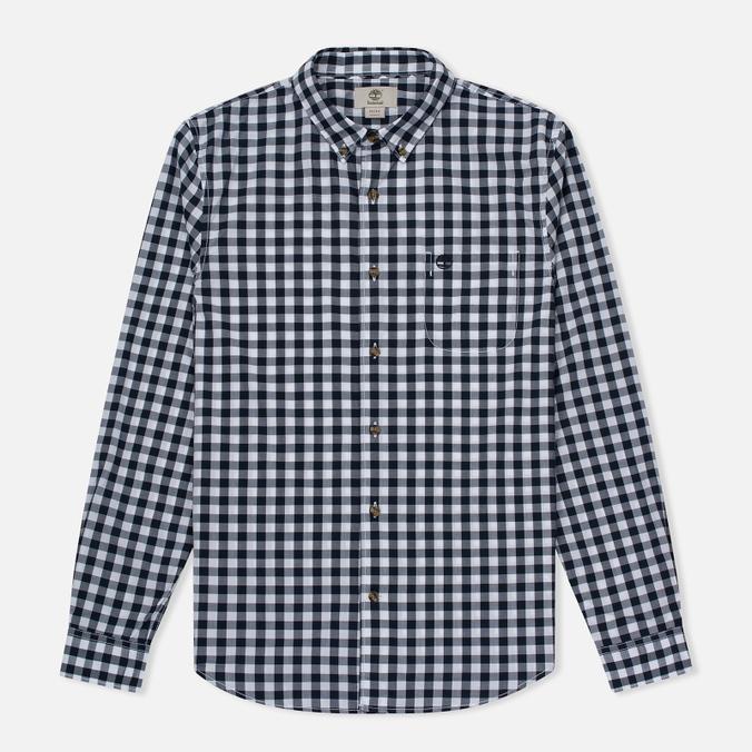 Мужская рубашка Timberland Suncook River Slim Fit Dark Sapphire