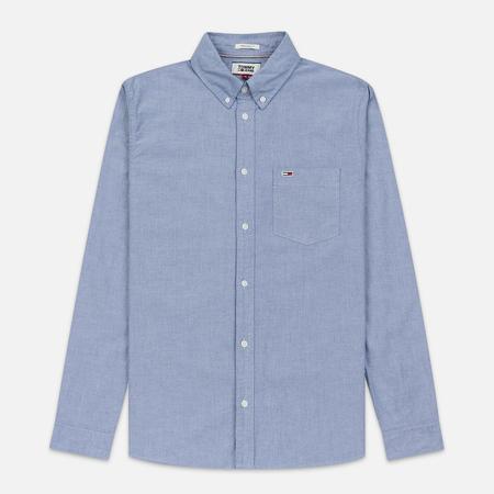 Мужская рубашка Tommy Jeans Classics Oxford Black Iris