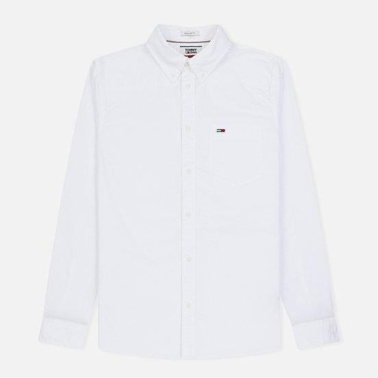 Мужская рубашка Tommy Jeans Classics Oxford Classic White