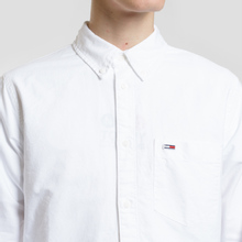 Мужская рубашка Tommy Jeans Classics Oxford Classic White фото- 2