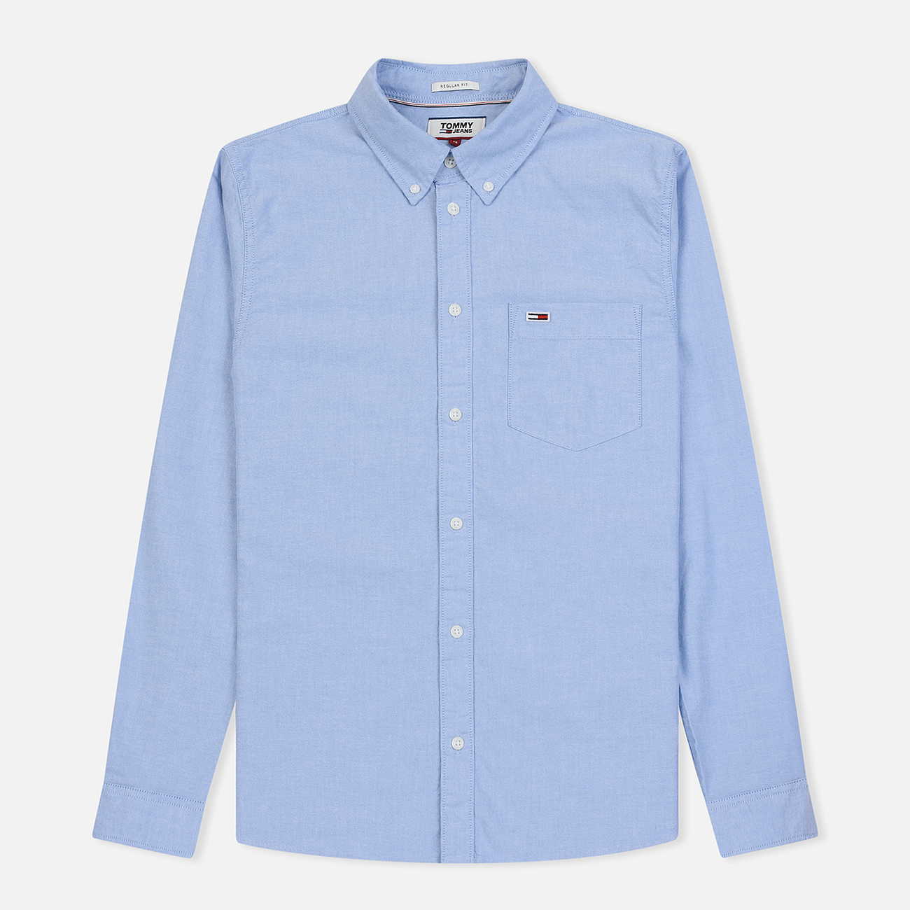 Мужская рубашка Tommy Jeans Classics Oxford Light Blue