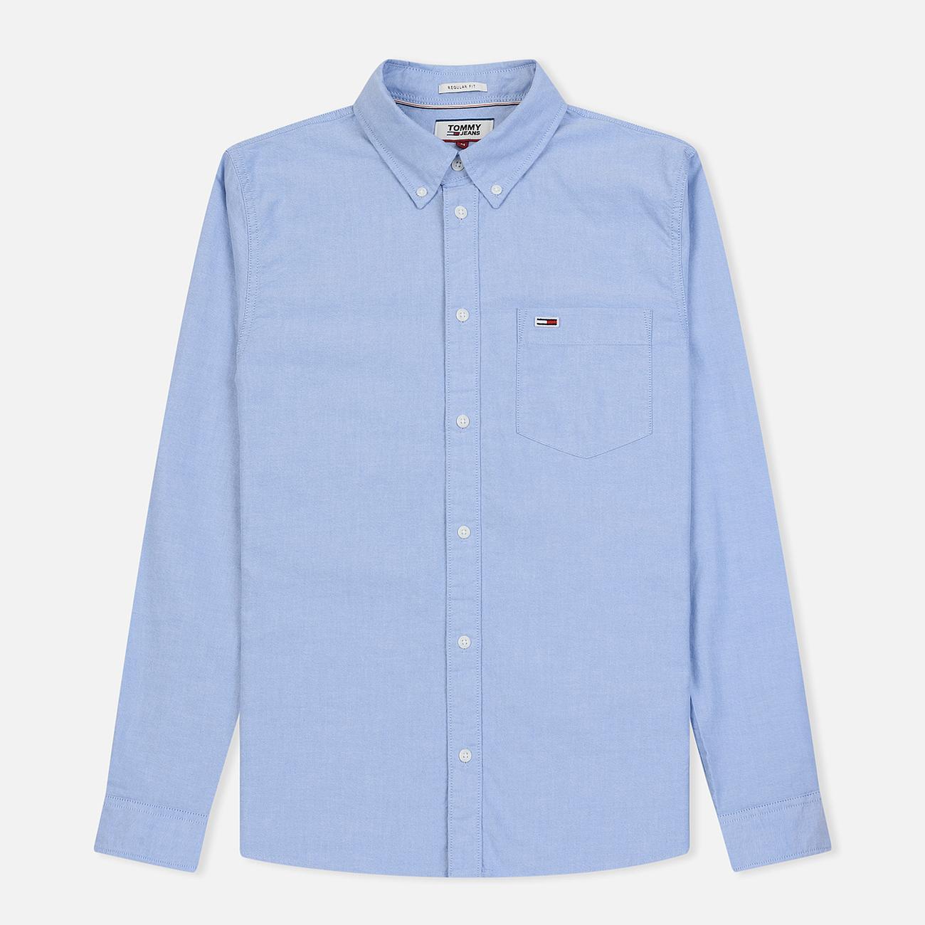 Мужская рубашка Tommy Jeans Classics Oxford Light Blue