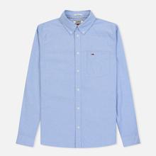 Мужская рубашка Tommy Jeans Classics Oxford Light Blue фото- 0
