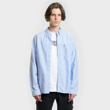 Мужская рубашка Tommy Jeans Classics Oxford Light Blue фото- 1