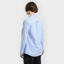 Мужская рубашка Tommy Jeans Classics Oxford Light Blue фото- 3