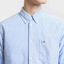 Мужская рубашка Tommy Jeans Classics Oxford Light Blue фото- 2