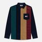 Мужская рубашка Tommy Jeans Colorblock Corduroy Black Iris/Multicolor фото - 0
