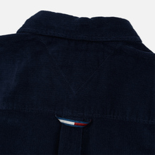 Мужская рубашка Tommy Jeans Colorblock Corduroy Black Iris/Multicolor фото- 4