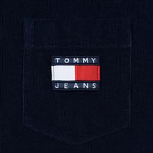 Мужская рубашка Tommy Jeans Corduroy Comfort Fit Black Iris фото- 2