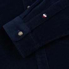Мужская рубашка Tommy Jeans Corduroy Comfort Fit Black Iris фото- 3