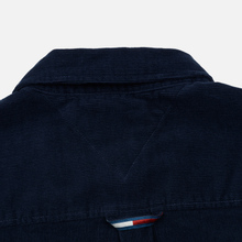 Мужская рубашка Tommy Jeans Corduroy Comfort Fit Black Iris фото- 4