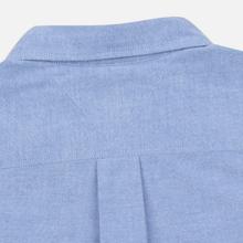Мужская рубашка Tommy Jeans Flag Denim Blue Chambray фото- 5