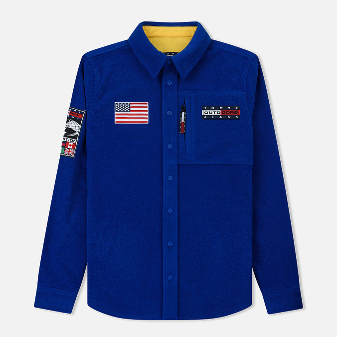 Мужская рубашка Tommy Jeans Fleece Expedition 6.0 Surf The Web