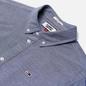 Мужская рубашка Tommy Jeans Stretch Oxford Black Iris фото - 1