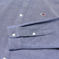 Мужская рубашка Tommy Jeans Stretch Oxford Black Iris фото - 2