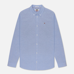 Мужская рубашка Tommy Jeans Stretch Oxford Perfume Blue