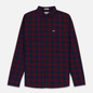 Мужская рубашка Tommy Jeans Sustainable Gingham Burgundy фото - 0