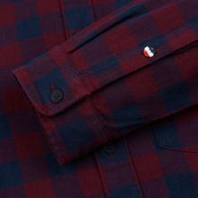 Мужская рубашка Tommy Jeans Sustainable Gingham Burgundy фото- 3