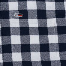 Мужская рубашка Tommy Jeans Sustainable Gingham Classic White фото- 2
