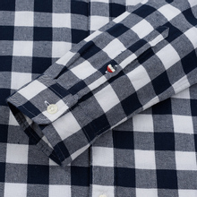 Мужская рубашка Tommy Jeans Sustainable Gingham Classic White фото- 3