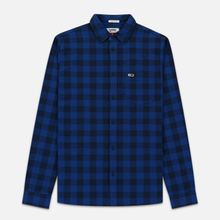Мужская рубашка Tommy Jeans Sustainable Gingham Dutch Blue фото- 0
