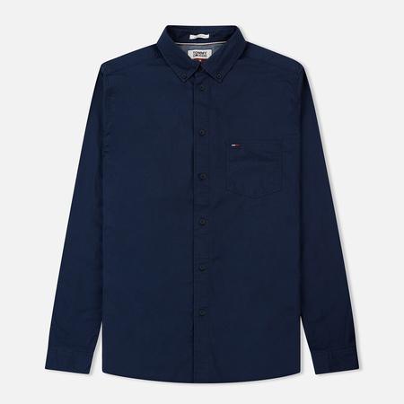 Мужская рубашка Tommy Jeans Tape Detail Black Iris