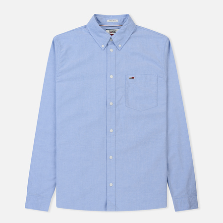 Мужская рубашка Tommy Jeans Tommy Classics Light Blue