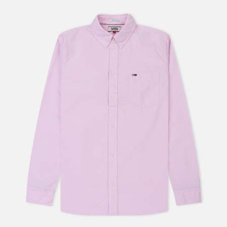 Мужская рубашка Tommy Jeans Tommy Classics Oxford Pink