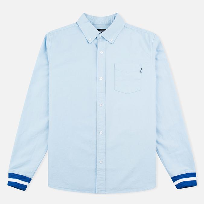 Мужская рубашка Undefeated Cuff Oxford LS Light Blue