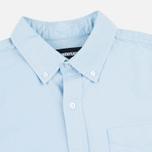 Мужская рубашка Undefeated Cuff Oxford LS Light Blue фото- 1
