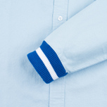 Мужская рубашка Undefeated Cuff Oxford LS Light Blue фото- 3