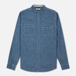 Мужская рубашка Uniformes Generale La Haine Chambray Vintage Indigo фото- 0
